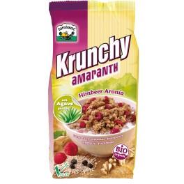 Barnhouse Krunchy - Cereale din amarant crocant cu zmeura si aronia 375 gr