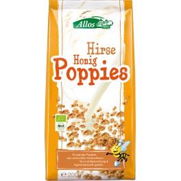 Allos Cereale expandate din mei cu miere, 200 gr