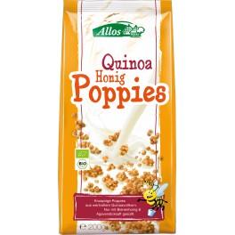 Allos Cereale expandate cu quinoa si miere, 200 gr