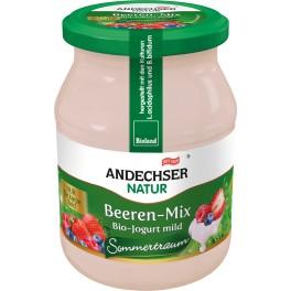 Andechser Natur - Iaurt cu mix de fructe de padure, 500 gr