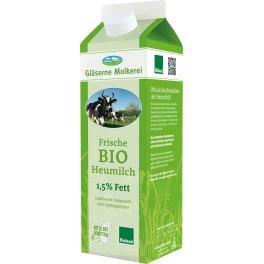 Glaserne Molkerei lapte cu continut redus de grasime Heumilch, 1L