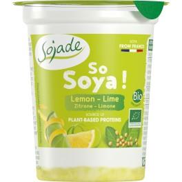 Sojade cu fructe - lamaie si lime 125 gr