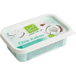 Landskrone crema tartinabila cu seminte de chia si nuca de cocos, 250 gr