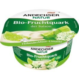 """Andechser Natur - Branza cremoasa """"quark"""" cu prune si scortisoara, 150 gr"""