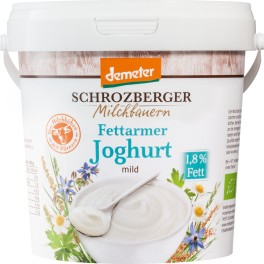 Schrozberg iaurt natural cu continut redus de grasimi, 1 kg