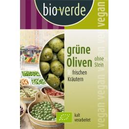 Bio-verde - masline verzi fara sambure, 150 gr