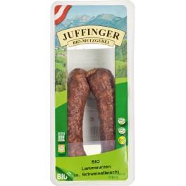 Biometzgerei Juffinger Carnaciori de miel, 120 gr