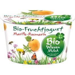 Bio Wiesenmilch - Iaurt cu mirabelle si rosmarin, 180 gr