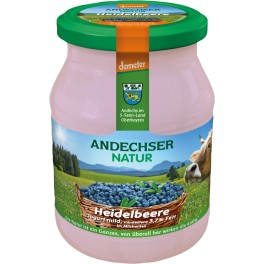 Andechser Natur - Iaurt cu coacaze, 500 gr