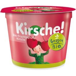 besser Bio - iaurt cu cirese 125 gr