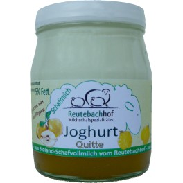 Iaurt din lapte de oaie Maisch cu fructe - gutui, 140 gr
