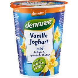 DENNREE iaurt cu fructe - vanilie 400 gr