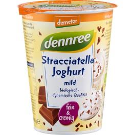 DENNREE iaurt cu fructe - stracciatella 400 gr