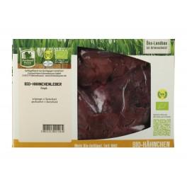 Ficatei de pui bio proaspeti, aproximativ 330 gr/cutia