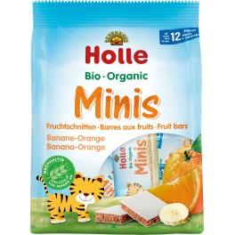 Holle Minis felii de fructe banane portocale, 8x 12,5