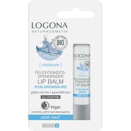 Logona Balsam de buze hidratant, Acid Hyaluronic,