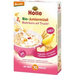 Holle  Bio-Juniormusli multicereale cu fructe, 250 gr pachet