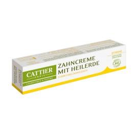 Cattier, Pasta de dinti cu lamaie si argila, Tub 75ml