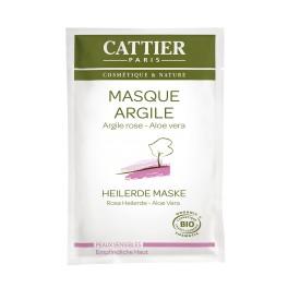 Cattier, Masca cu argila roza, 12,5 ml plic