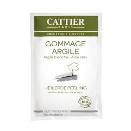 Cattier, Exfoliant cu argila alba,  12,5 ml