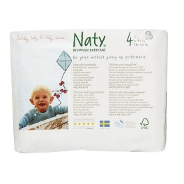 Naty, Scutece-chilotel impermeabili, Marimea 4 , 8-15 kg, 22 buc/pachet