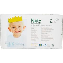 Naty, Scutece  marimea 2, 3-6 kg, 34 buc/pachet