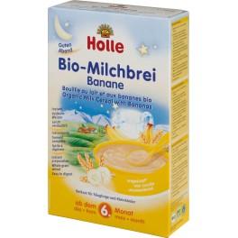 Holle, Piure cu lapte si banane, 250 gr