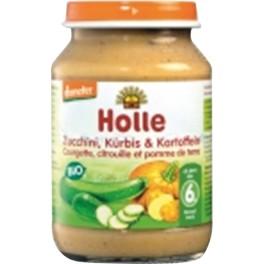 Holle,Preparat din Zucchini, dovleac si cartofi, 190 gr