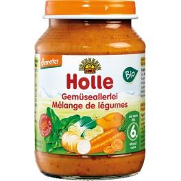 Holle, Ghiveci de legume , 190 gr pahar