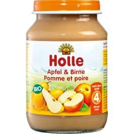 Holle, Piure de mere si pere, 190 gr
