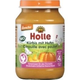 Holle, Dovleac cu carne de pui, 190 gr