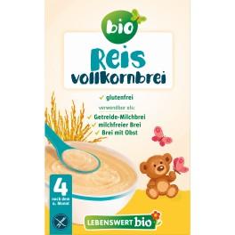 Lebenswert bio -  Piure instant din orez cu bob intreg, 225 gr