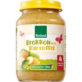 Lebenswert  bio - Broccoli cu cartofi, 190 gr