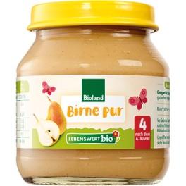 Lebenswert  bio -  Piure de pere, 125 gr