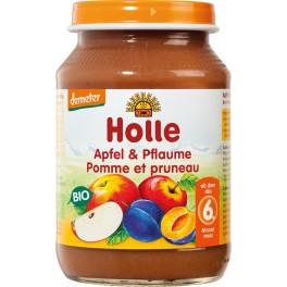 Holle, Piure mere si prune, 190 gr