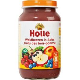 Holle, Piure de mere cu fructe de padure, 220 gr