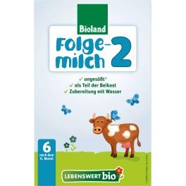 Lebenswert  bio -  Lapte bio bebelusi Etapa 2, 500 gr