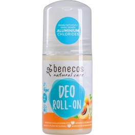 Benecos Deodorant roll-on caise si flori de soc  50 ml