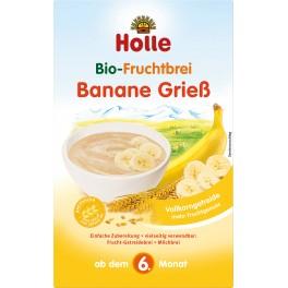 Holle, Piure de fructe, banane cu gris, 250 gr pachet