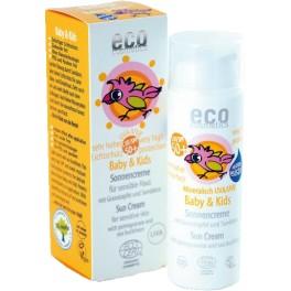 Cosmetice eco pentru copii si pentru copii de protectie solara SPF 50+