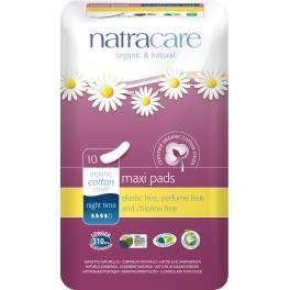 Natracare Absorbante pentru utilizare in timpul noptii 10 bucati per pachet
