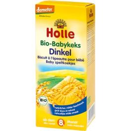 Holle, Biscuiti cu grau pentru bebelusi, 150 gr pachet
