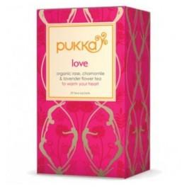 Ceaiul iubirii Pukka Herbs 20 saculeti
