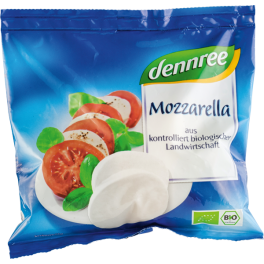 Mozzarella bio Dennree