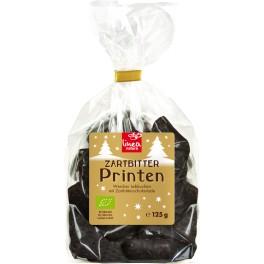 Linea natura Turta dulce cu ciocolata neagra, 125 gr