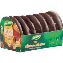 Dennree turta dulce fina invelita in ciocolata 200 gr