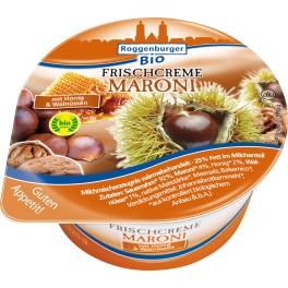 Landkaserei Herzog crema de smantana proaspata cu castane 125 gr