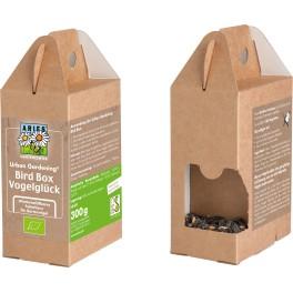 Aries Bird Box - Casuta pentru pasari cu hrana, 1 pachet