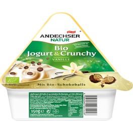 Andechser Natur - Iaurt cu cereale, vanilie si ciocolata