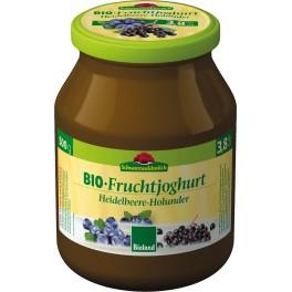 Schwarzwaldmilch - Iaurt cu coacaze si flori de soc, 500 gr